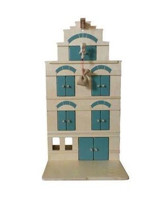 Van Dijk toys Poppenhuis - Pakhuis - Groen