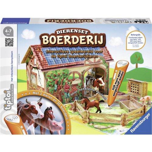 Ravensburger Tiptoi - Dierenset - Boerderij