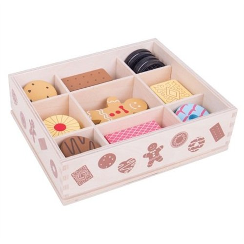 BigJigs Bigjigs - Eten - Heerlijke koekjes - In kistje