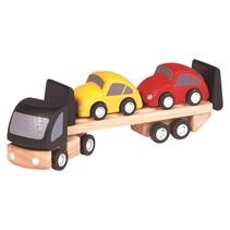 PlanToys - Auto transportwagen