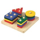 Plan Toys PlanToys - Geometrisch sorteerbord