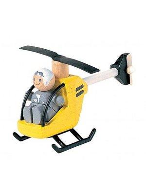Plan Toys PlanToys - Helikopter met piloot