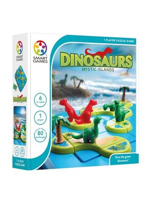 Smartgames Smart Games - Dinosaurs mysterious islands - 6+