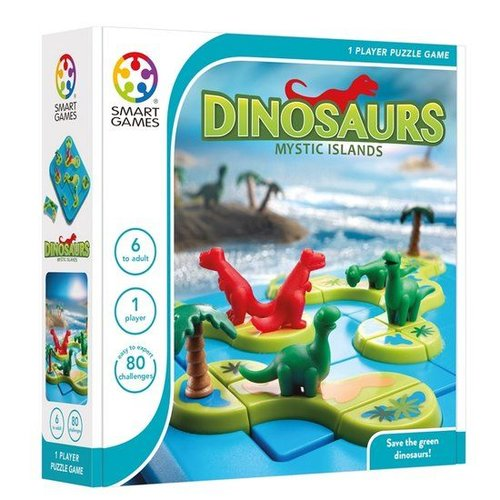 Smartgames Dinosaurs - Mysterious islands - IQ spel - 6+