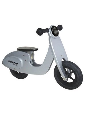 Simply for kids Tweewieler - Scooter - Zilver - 3+