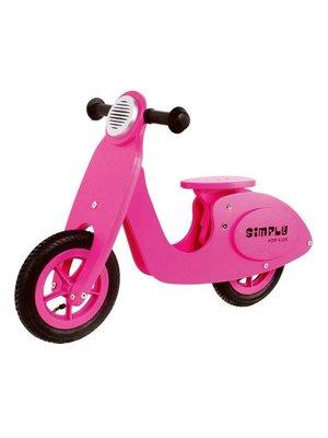 Simply for kids Tweewieler - Scooter - Roze - 3+