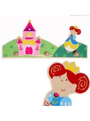 Simply for kids Simply for Kids - Kapstok - Prinses - 3 Haakjes
