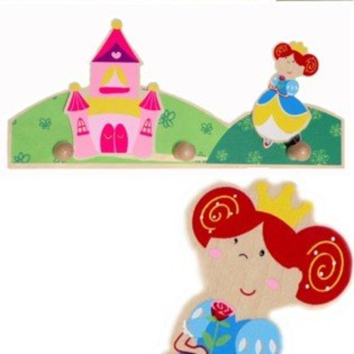 Simply for kids Kapstok - Prinses - 3 Haakjes