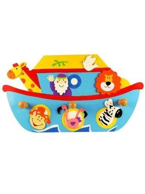 Simply for kids Kapstok - Ark van Noach - 3 Haakjes