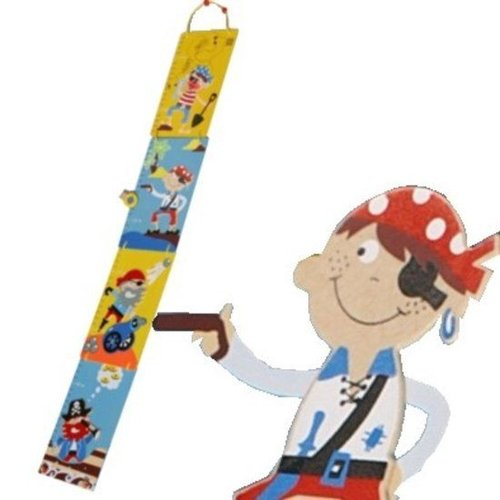 Simply for kids Simply for Kids - Groeimeter - Piraat