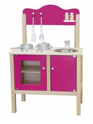 Simply for kids Speelkeuken - Blank / hard roze