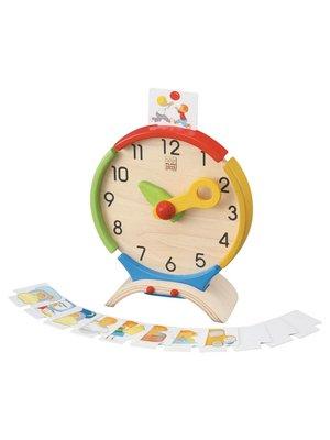 Plan Toys PlanToys - Leer & activiteiten klok