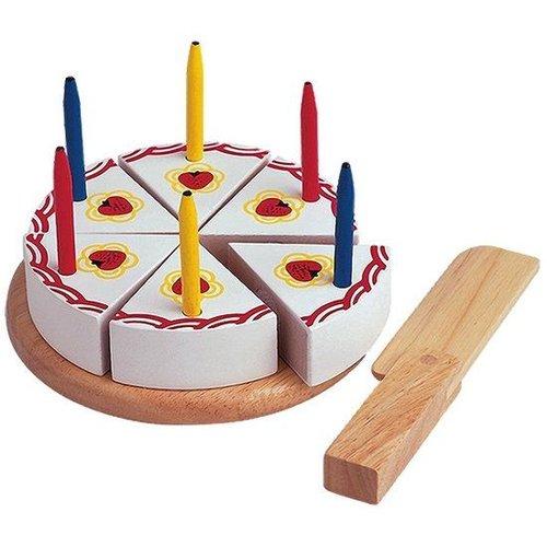 Santoys Speelgoedeten - Verjaardagstaartje - Snijset