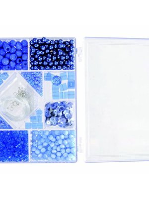 Egmont Egmont Toys - Kralen - In rechthoekig doosje - Blauw