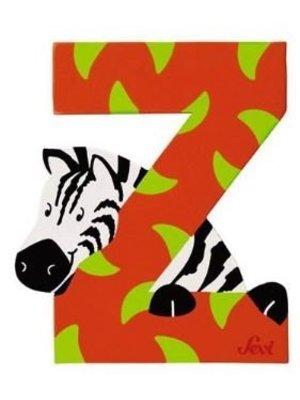 Sevi Letter - Z - Hout - Sevi