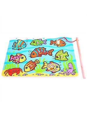 BigJigs Bigjigs - Puzzel/spel - Visjes vangen - Tropische vissen - 8st.