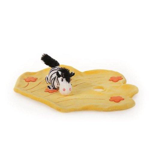 Egmont Egmont Toys - Knuffellapje - Kiekeboe - Zebra