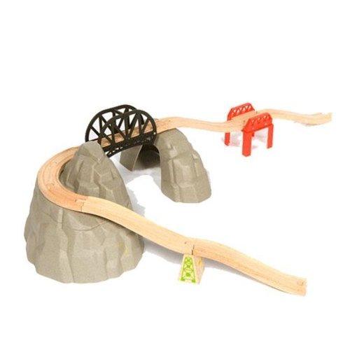 BigJigs Bigjigs - Rails - Berg, rails & kleine berg