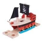 BigJigs Bigjigs - Rails - Piratenschip