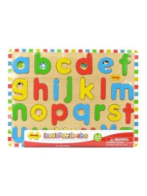 BigJigs Puzzel - Alfabet - Kleine letters - 26st.