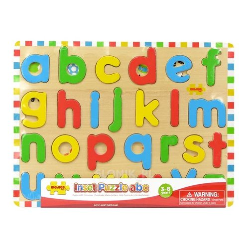 BigJigs Bigjigs - Puzzel - ABC - Kleine letters - 26st.