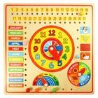 BigJigs Bigjigs - Kalender, klok, dagen & maanden