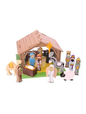 BigJigs Kerststal - Set