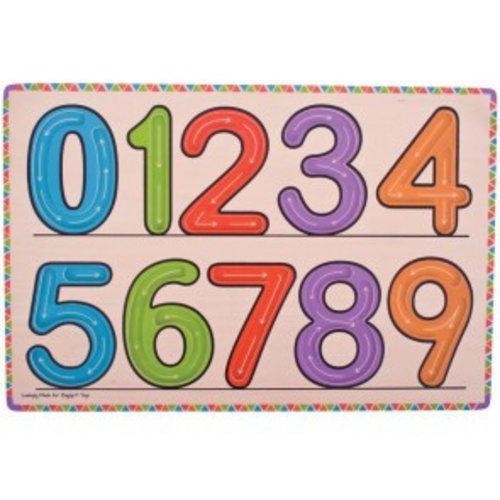 BigJigs Bigjigs - Nummers leren schrijven