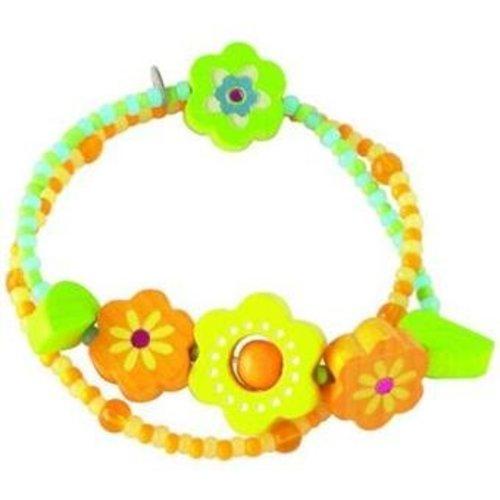 Haba Haba armband zonnebloemen