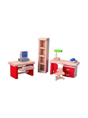 Plantoys Poppenhuis accessoires - Meubels kantoor