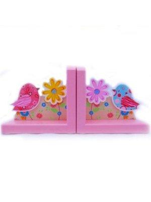 Simply for kids Simply for Kids - Boekensteun - Vogels - Roze
