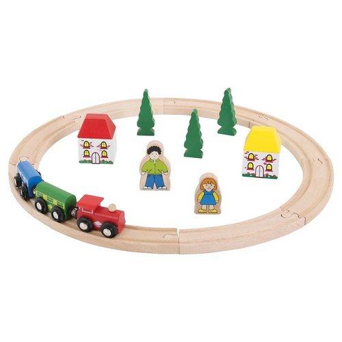 BigJigs Bigjigs - Rails - Mijn eerste treinset