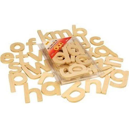 BigJigs Sjablonen - Alfabet - Kleine letters