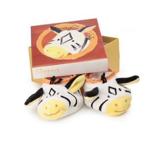 Egmont Babyslofjes - Zebra in bewaardoosje