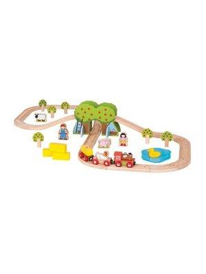 BigJigs Bigjigs - Rails - Treinset - Boerderij