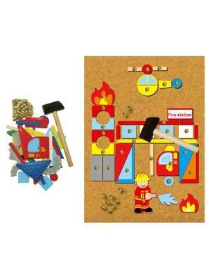 Simply for kids Hamertje tik - Brandweer