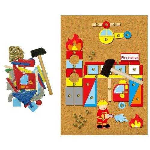 Simply for kids Simply for Kids - Hamertje tik - Brandweer