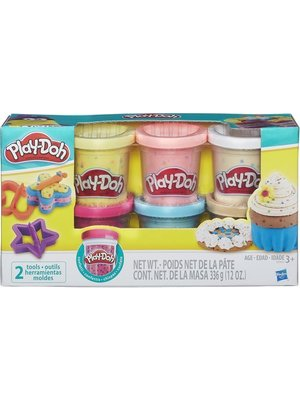 Play-Doh - Speelklei - Confetti - In potjes - 6dlg.