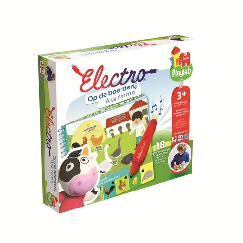 Leerspel - Electro - Op de boerderij - 3+