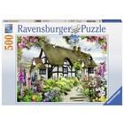 Ravensburger Ravensburger - Puzzel - Idyllische cottage - 500st.