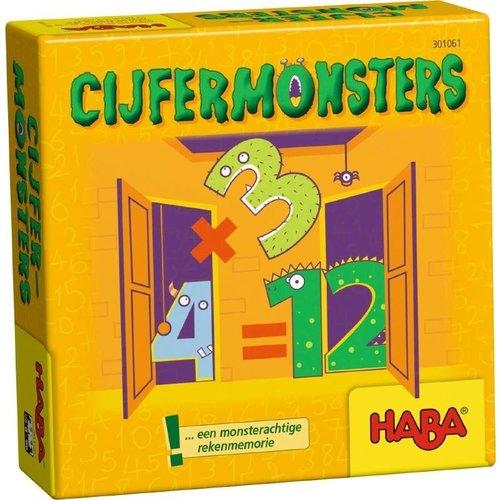 Haba Haba - Supermini spel - Cijfermonsters - 8+