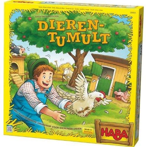 Haba Haba - Spel - Dierentumult - 3+*