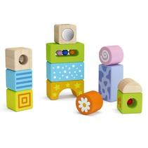 Vigatoys - Babyblokken met geluid