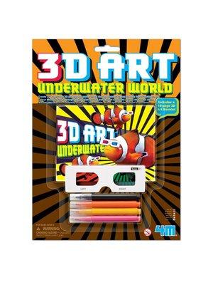 Knutselset - 3D Onderwaterwereld