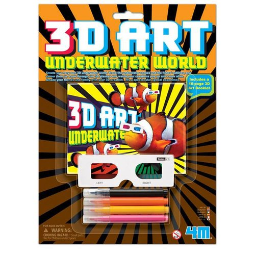 3D Kunst - Onderwaterwereld