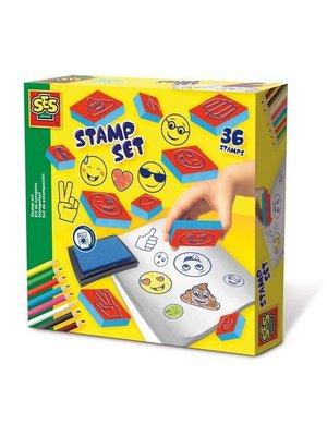 SES - Stempelset - Emoticons