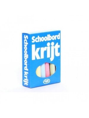 Krijt - Schoolbord - Gekleurd