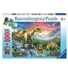 Ravensburger Ravensburger - Puzzel - Bij de dinosaurussen - 100st. XXL