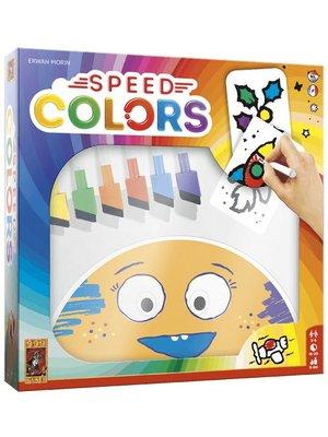 999 Games Kaartspel - Speed colors - 5+