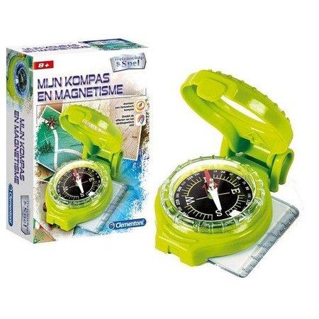 Clementoni - Wetenschap & spel - Mijn kompas & magnetisme